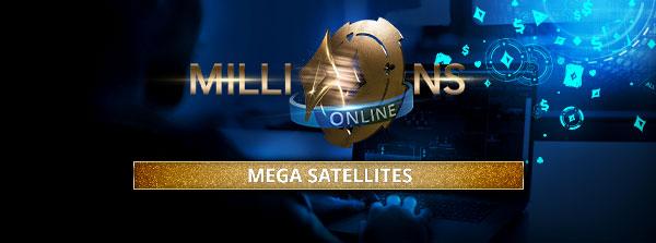 MILLIONS Online Mega szatellitek
