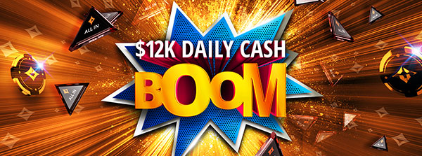$12K in cash prizes every day!