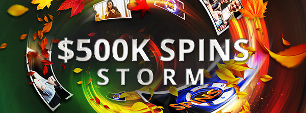 Notre toute première offre SPINS Storm !